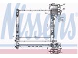 Радиатор, охлаждение двигател  Радиатор двигателя MB VITO 2.0-2.8/2.0D/2.2D 96-03  Вид коробки передач: Автоматическая коробка передач Оснащение / оборудование: для транспортных средств с/без кондиционером