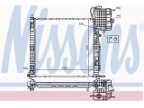 Радиатор, охлаждение двигател  Радиатор двигателя MB VITO 2.0-2.8/2.0D/2.2D 96-04  Вид коробки передач: механическая коробка передач Оснащение / оборудование: для транспортных средств с/без кондиционером