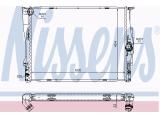 Радиатор, охлаждение двигател  Радиатор двигателя BMW E87 1.6-3.0 04-  Оснащение / оборудование: для транспортных средств с/без кондиционером Материал: алюминий Материал: полимерный материал