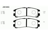 Комплект тормозных колодок, дисковый тормоз  Колодки торм. MITSUBISHI GALANT 1.8/2.0 92- / SPACERUNNER 1.8-2.4  Толщина 1 [мм]: 15 Толщина 2 [мм]: 15,5 Высота [мм]: 35 Динамика тормоза / движения: для противоблокировочного устройства Длина [мм]: 107,7