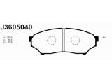 Комплект тормозных колодок, дисковый тормоз  Колодки тормозные MITSUBISHI PAJERO PININ 1.8-2.0D 99- передние  Толщина [мм]: 15,5 Высота [мм]: 42,5 Длина [мм]: 123