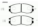 Комплект тормозных колодок, дисковый тормоз  Колодки тормозные MITSUBISHI GALANT/LANCER 1.8-2.0 88-00 передние  Толщина [мм]: 16 Высота [мм]: 45,5 Динамика тормоза / движения: для противоблокировочного устройства Длина [мм]: 127,8