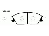Комплект тормозных колодок, дисковый тормоз  Колодки торм. HYUNDAI ACCENT/GETZ 01- пер.  Толщина [мм]: 15 Динамика тормоза / движения: для противоблокировочного устройства Длина [мм]: 127,5 Ширина (мм): 48,5