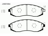 Комплект тормозных колодок, дисковый тормоз  Колодки тормозные NISSAN MAXIMA 91-00/MITSUBISHI L200 96- передни  Толщина [мм]: 16,5 Высота [мм]: 47 Длина [мм]: 151