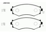 Комплект тормозных колодок, дисковый тормоз  Колодки тормозные HYUNDAI ELANTRA/MATRIX/SONATA передние  Толщина [мм]: 17 Высота [мм]: 48,5 Длина [мм]: 137