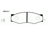 Комплект тормозных колодок, дисковый тормоз    Толщина [мм]: 16,8 Высота [мм]: 44,5 Длина [мм]: 130,1