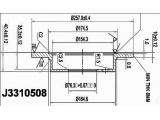 Тормозной диск  Диск тормозной HYUNDAI ELANTRA XD 00>/LANTRA задний  Диаметр [мм]: 258 Высота [мм]: 40,4 Тип тормозного диска: полный Толщина тормозного диска (мм): 10 Минимальная толщина [мм]: 8 Количество отверстий: 4 Ø фаски 2 [мм]: 114,3 Диаметр ступицы [мм]: 165 Диаметр центрирования [мм]: 76,3
