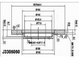 Тормозной диск  Диск торм. MITSUBISHI SPACE RUNNER/WAGON 2.0/2.4 98- пер. вент.  Диаметр [мм]: 276 Высота [мм]: 45,1 Тип тормозного диска: с внутренней вентиляцией Толщина тормозного диска (мм): 24 Минимальная толщина [мм]: 22,4 Количество отверстий: 5 Ø фаски 2 [мм]: 114,3 Диаметр ступицы [мм]: 156 Диаметр центрирования [мм]: 69