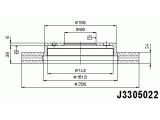 Тормозной диск  Диск тормозной MITSUBISHI GALANT 88>04/CARISMA 95>06/VOLVO S40 95  Диаметр [мм]: 256 Высота [мм]: 45,8 Тип тормозного диска: с внутренней вентиляцией Толщина тормозного диска (мм): 24 Минимальная толщина [мм]: 22,4 Количество отверстий: 4 Ø фаски 2 [мм]: 114,3 Динамика тормоза / движения: для противоблокировочного устройства Диаметр ступицы [мм]: 155 Диаметр центрирования [мм]: 69