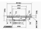 Тормозной диск  Диск торм. HYUNDAI LANTRA 1.5 96- пер. вент.  Диаметр [мм]: 242 Высота [мм]: 37 Тип тормозного диска: с внутренней вентиляцией Толщина тормозного диска (мм): 19 Минимальная толщина [мм]: 17 Количество отверстий: 4 Ø фаски 2 [мм]: 104 Диаметр ступицы [мм]: 126,1 Диаметр центрирования [мм]: 86,1