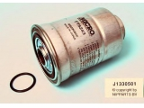 Топливный фильтр  Фильтр топливный HYUNDAI PORTER /H-1 2.5D  Внутренняя резьба [мм]: M20x1,5 Внешний диаметр [мм]: 96 Наружная длина [мм]: 136