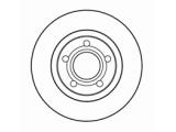 Тормозной диск  Диск тормозной AUDI A4 95>/VOLKSWAGEN PASSAT 97>00 передний вент.  Диаметр [мм]: 280 Высота [мм]: 46 Тип тормозного диска: вентилируемый Толщина тормозного диска (мм): 22,0 Минимальная толщина [мм]: 20 Диаметр центрирования [мм]: 68 Число отверстий в диске колеса: 5