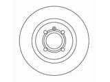 Тормозной диск  Диск торм пер вент G2/PASSAT 1.8 (DF2631)  Диаметр [мм]: 280 Высота [мм]: 39 Тип тормозного диска: вентилируемый Толщина тормозного диска (мм): 22,0 Минимальная толщина [мм]: 20 Диаметр центрирования [мм]: 65 Число отверстий в диске колеса: 4