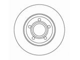 Тормозной диск  Диск торм пер A4 95-01 (DF2730)  Диаметр [мм]: 280 Высота [мм]: 46,5 Тип тормозного диска: полный Толщина тормозного диска (мм): 13,0 Минимальная толщина [мм]: 11 Диаметр центрирования [мм]: 68 Число отверстий в диске колеса: 5