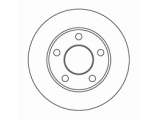 Тормозной диск  Диск тормозной AUDI A100 91>94/A6 95>05/VW PASSAT 97>05 задний  Диаметр [мм]: 245 Высота [мм]: 64 Тип тормозного диска: полный Толщина тормозного диска (мм): 10,0 Минимальная толщина [мм]: 8 Диаметр центрирования [мм]: 68 Число отверстий в диске колеса: 5