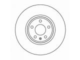 Тормозной диск  Диск тормозной AUDI A4 1.8>3.2 07>/Q5 08> передний  Диаметр [мм]: 320 Высота [мм]: 52,1 Тип тормозного диска: вентилируемый Толщина тормозного диска (мм): 30,0 Минимальная толщина [мм]: 28 Диаметр центрирования [мм]: 68 Число отверстий в диске колеса: 5
