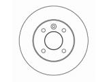 Тормозной диск  Диск торм зад ASTRA G/ZAFIRA (DF4050)  Диаметр [мм]: 240 Высота [мм]: 42,7 Тип тормозного диска: полный Толщина тормозного диска (мм): 10,0 Минимальная толщина [мм]: 8 Диаметр центрирования [мм]: 57 Число отверстий в диске колеса: 4