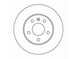 Тормозной диск  Диск торм зад ASTRA G/ZAFIRA 1.8/2.0 (DF4051)  Диаметр [мм]: 264 Высота [мм]: 42 Тип тормозного диска: полный Толщина тормозного диска (мм): 10,0 Минимальная толщина [мм]: 7 Диаметр центрирования [мм]: 65,5 Число отверстий в диске колеса: 5