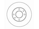 Тормозной диск  Диск торм пер вент ELANTRA/MATRIX (DF4698)  Диаметр [мм]: 257 Высота [мм]: 46,7 Тип тормозного диска: вентилируемый Толщина тормозного диска (мм): 24,0 Минимальная толщина [мм]: 22 Диаметр центрирования [мм]: 69 Число отверстий в диске колеса: 4