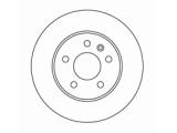 Тормозной диск  Диск торм пер вент VITO (DF2797)  Диаметр [мм]: 276 Высота [мм]: 60 Тип тормозного диска: вентилируемый Толщина тормозного диска (мм): 22,0 Минимальная толщина [мм]: 19 Диаметр центрирования [мм]: 67 Число отверстий в диске колеса: 5