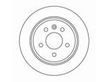 Тормозной диск  Диск торм зад VITO (DF2794)  Диаметр [мм]: 280 Высота [мм]: 65 Тип тормозного диска: полный Толщина тормозного диска (мм): 10,0 Минимальная толщина [мм]: 8 Диаметр центрирования [мм]: 67 Число отверстий в диске колеса: 5