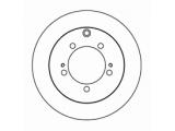 Тормозной диск  Диск тормозной MITSUBISHI PAJERO PININ 99>05/MONTERO IO 99>05 зад  Диаметр [мм]: 262 Высота [мм]: 60,6 Тип тормозного диска: полный Толщина тормозного диска (мм): 9,5 Минимальная толщина [мм]: 8,4 Диаметр центрирования [мм]: 89,6 Число отверстий в диске колеса: 5