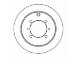 Тормозной диск  Диск тормозной MITSUBISHI LANCER 1.3/1.6/2.0 01>/GALANT 1.8/2.0 9  Диаметр [мм]: 262 Высота [мм]: 61,6 Тип тормозного диска: полный Толщина тормозного диска (мм): 10,0 Минимальная толщина [мм]: 8,4 Диаметр центрирования [мм]: 90 Число отверстий в диске колеса: 4