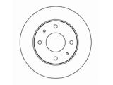 Тормозной диск  Диск тормозной MITSUBISHI GALANT 88>04/CARISMA 95>06/VOLVO S40 95  Диаметр [мм]: 256 Высота [мм]: 45 Тип тормозного диска: вентилируемый Толщина тормозного диска (мм): 24,0 Минимальная толщина [мм]: 22,4 Диаметр центрирования [мм]: 69 Число отверстий в диске колеса: 4