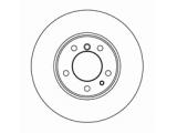 Тормозной диск  Диск торм пер вент E34/E32 88-97 (DF2556)  Диаметр [мм]: 302 Высота [мм]: 76,2 Тип тормозного диска: вентилируемый Толщина тормозного диска (мм): 22,0 Минимальная толщина [мм]: 20,4 Диаметр центрирования [мм]: 79 Число отверстий в диске колеса: 5