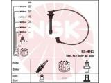 Ккомплект проводов зажигания  Ремень ГРМ 147 x 24  Цвет: синий Количество проводов: 4