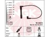 Ккомплект проводов зажигания  Провода в/в AUDI A4/A6/A8/PASS 96-05 RC-AD218  Цвет: черный Количество проводов: 6