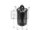 Топливный фильтр  Фильтр топливный AUDI A4/OCTAVIA/G4 1.9D  Внешний диаметр [мм]: 80 Впускн. Ø [мм]: 8 Выпускн.-Ø [мм]: 8 Высота [мм]: 176,5