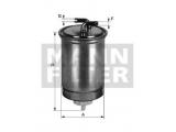 Топливный фильтр  Фильтр топливный VW T2/GOLF 2/LT/POLO 1.3D-2.4D/HONDA ACCORD 2.0D  Внешний диаметр [мм]: 80 Впускн. Ø [мм]: 8 Выпускн.-Ø [мм]: 8 Высота [мм]: 150