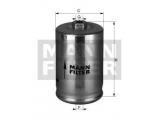 Топливный фильтр  Фильтр топливный AUDI 80/A4/A6/A8 1.6-6.0/VW PASSAT 2.0-4.0 96-05  Внешний диаметр [мм]: 74,5 Размер резьбы на входе: M 14 X 1.5 Размер резьбы на выходе: M 12 X 1.5 Высота [мм]: 125