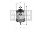 Топливный фильтр  Фильтр топливный NISSAN PRIMERA/ALMERA/MAXIMA/MICRA  Внешний диаметр [мм]: 56,5 Наружный диаметр 1 [мм]: 64,5 Впускн. Ø [мм]: 8 Выпускн.-Ø [мм]: 8 Высота [мм]: 125