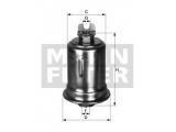 Топливный фильтр  Фильтр топливный MITSUBISHI PAJERO 3.0-3.5 V6 94-  Внешний диаметр [мм]: 55,5 Наружный диаметр 1 [мм]: 71 Размер резьбы на входе: M 14 X 1.5 Размер резьбы на выходе: M 12 X 1.25 Высота [мм]: 122