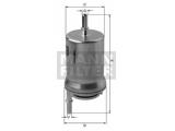 Топливный фильтр  Фильтр топливный VAG POLO/GOLF/CADDY/FABIA/A2/A3 99-  Внешний диаметр [мм]: 55 Наружный диаметр 1 [мм]: 62 Впускн. Ø [мм]: 8 Выпускн.-Ø [мм]: 8 Высота [мм]: 151