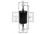 Топливный фильтр  Фильтр топливный OPEL/GM  Внешний диаметр [мм]: 54 Наружный диаметр 1 [мм]: 60 Впускн. Ø [мм]: 8 Выпускн.-Ø [мм]: 8 Высота [мм]: 162