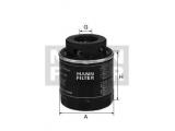 Масляный фильтр  Фильтр масляный VAG 1.2/1.4 FSI/TSI/TFSI 08-  Внешний диаметр [мм]: 76 Размер резьбы: 3/4-16 UNF Высота [мм]: 79 Дополнительный артикул / Доп. информация 2: с двумя возвратными клапанами Давление открытия обгонного клапана [бар]: 2