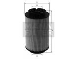 Топливный фильтр  Фильтр топливный VAG A3/G5/TOURAN 1.9/2.0 TDI/SDI  Внешний диаметр [мм]: 83 Внутренний диаметр: 38,5 Внутренний диаметр 1(мм): 38,5 Высота [мм]: 142