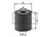 Масляный фильтр    Внешний диаметр [мм]: 71,5 Внутренний диаметр: 31 Высота [мм]: 92