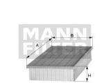 Воздушный фильтр  Фильтр воздушный OPEL ASTRA H/ZAFIRA 1.6-1.9D 04-  Длина [мм]: 292,5 Ширина (мм): 224 Высота [мм]: 52