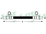 Тормозной шланг  Шланг тормозной M10x1x295mm пер A4  Длина [мм]: 310 для артикула №: 6T46584 Размер резьбы 1: F 10 X 1 Размер резьбы 2: F 10 X 1