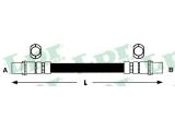 Тормозной шланг  Шланг торм М10х1х350mm пер PASSAT (F08487)  Длина [мм]: 360 для артикула №: 6T46267 Размер резьбы 1: F 10 X 1 Размер резьбы 2: F 10 X 1