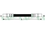 Тормозной шланг  Шланг торм М10х1х180 задA80,G2/P3/T4(F08519)  Длина [мм]: 194 для артикула №: 6T46127 Размер резьбы 1: F 10 X 1 Размер резьбы 2: F 10 X 1
