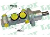 Главный тормозной цилиндр  Цилиндр торм.глав.VW CADDY/G3/LUPO/PASSAT/POLO 1.0-2.8 82-05  Ø отверстия [мм]: 20,64 Размер резьбы: 10x1 (4) Материал: алюминий для артикула №: 1835 Тормозная система: BDX