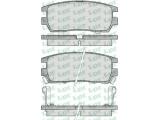 Комплект тормозных колодок, дисковый тормоз  Колодки тормозные MITSUBISHI PAJERO I/PAJERO II 3.0/3.5/2.5TD/L40  Толщина [мм]: 14 Ширина (мм): 108 Высота [мм]: 43,5 Количество датчиков износа: 2 для артикула №: 05P518