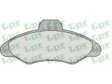 Комплект тормозных колодок, дисковый тормоз  Колодки тормозные FORD ESCORT 90-00 передние  Толщина [мм]: 18,6 Ширина (мм): 131 Высота [мм]: 57,5 для артикула №: 05P383