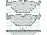 Комплект тормозных колодок, дисковый тормоз  Колодки тормозные BMW E32/E34/E36/Z3 >03 задние  Толщина [мм]: 17 Ширина (мм): 123,1 Высота [мм]: 44,9 для артикула №: 05P297