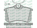 Комплект тормозных колодок, дисковый тормоз  Колодки тормозные VOLKSWAGEN G2/G3/PASSAT 88>92 задние  Толщина [мм]: 15 Ширина (мм): 87 Высота [мм]: 52,9 для артикула №: 05P294